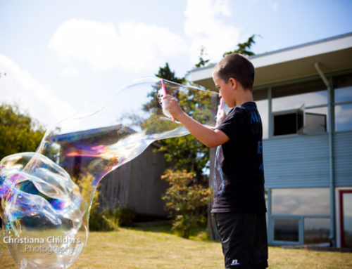 Giant Bubbles – Summer Fun!